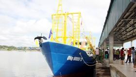 12bln steel boat delivered Quang Ngai fisherman