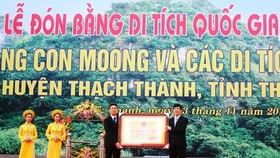 Con Moong Cave certified as National Relics