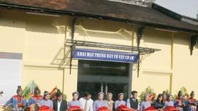 Mở cửa khu trưng bày cổ vật Champa tại Huế