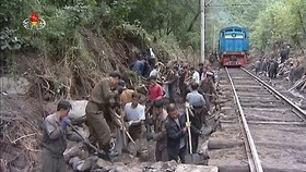 Flooding results in temporary suspension of railway services for residents: report