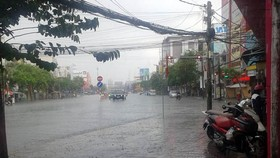 Depression zone brings tropical heavy downpours