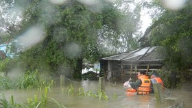 Southern central provinces to continue experiencing torrential rain & floods