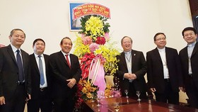 Deputy PM extends Xmas greetings to Catholics, Protestants in HCM City