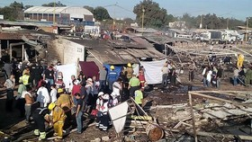 At least 32 dead, 70 hurt in Mexico fireworks market blast
