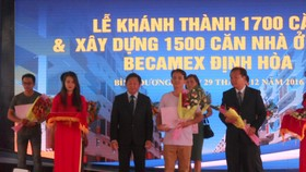 1,700 apartments under Binh Duong's social housing project put into use