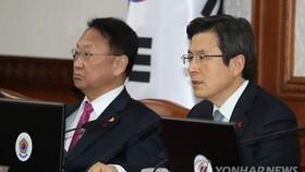 Amid N.K. threats, acting president vows to enhance security based on Korea-U.S. alliance
