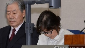 Court begins trial on woman at center of S. Korea's political scandal