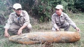 Quang Tri province unearths 300 kilogram war bomb