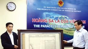 Valuable map of Hoang Sa Paracel donated to Da Nang