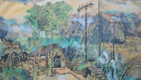 Painting exhibition present famous artists' works
