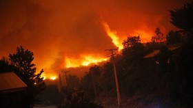 Chile wildfires kill 10 people: president