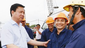 City party chief visits key traffic works