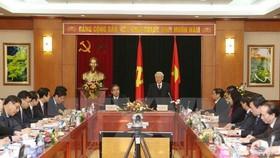 Party chief lauds economic commission's achievements