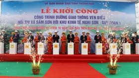 Thanh Hoa builds coastal road