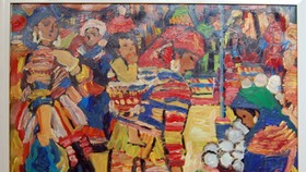 Hanoi's artists display paintings in HCM City