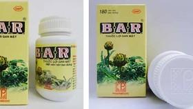 Cách phân biệt thực phẩm chức năng B.A.R và thuốc lợi gan mật B.A.R