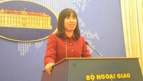 Thu Hang becomes MOFA's new spokesperson