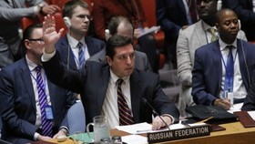 Russia vetoes UN resolution on Syria gas attack probe