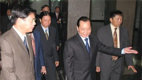 HCM City Leaders Meet with Lao Prime Minister