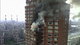 New York Stunned by Plan Crashing into High-rise Building