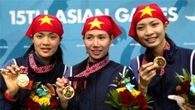 Viet Nam Finish Asian Games with 3 G, 13 S, 7 B Medals