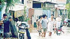 High Tide Submerges Southern Metro
