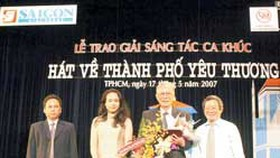 Song Contest Praising Ho Chi Minh City Ends