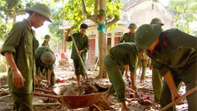 Flood Relief Comes to Quang Binh