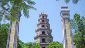 Restored Thien Mu Pagoda Opens Doors to Visitors Again
