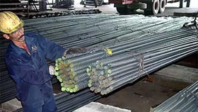 Cement Goes Down, Steel Rises
