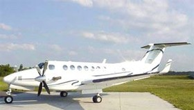 First Private Aircraft Takes off