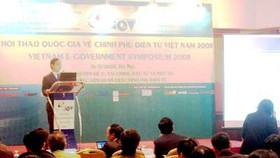 E-government should be developed as part of admin reform: conference