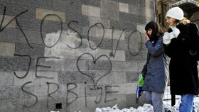 Tensions resurface as Kosovo marks first birthday