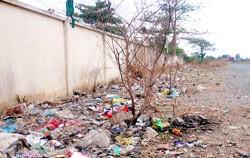 Vành đai sân bay hay nơi đổ rác?