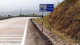 Đoạn đường thường xảy ra tai nạn trên đèo Lò Xo