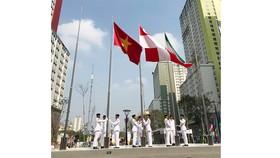 Cờ Việt Nam đã tung bay ở đấu trường Asiad 2018