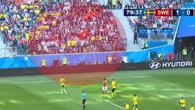 Quốc kỳ Việt Nam tung bay ở World Cup 2018