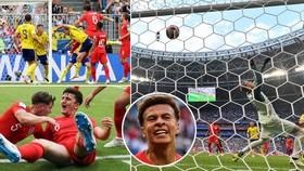 Tứ kết, Thụy Điển - Anh 0-2: Harry Maguire, Dele Alli lập công, Anh xứng đáng vào bán kết