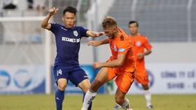 Becamex Bình Dương - Đà Nẵng 4-1: Chinedu Udoka lập cú đúp
