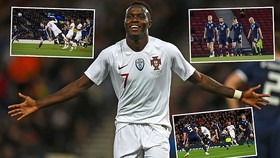 Scotland - Bồ Đào Nha 1-3: Helder Costa, Eder, Bruma tỏa sáng