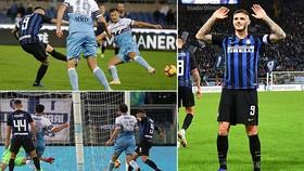 Lazio - Inter Milan 0-3: Mauro Icardi và Brozovic dìm Lazio