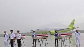 Việt Nam bàn giao ba bộ hài cốt quân nhân Mỹ