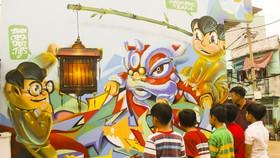 Graffiti cần sân chơi lành mạnh