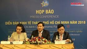 600 chuyên gia sẽ tham dự Diễn đàn Kinh tế TPHCM năm 2018