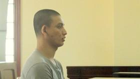 Bị cáo Thiện tại phiên tòa