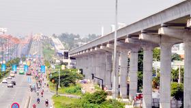 Ngày 23-10, lắp đặt đường ray tuyến metro Bến Thành- Suối Tiên