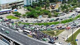Hệ thống giao thông khu vực chung quanh sân bay Tân Sơn Nhất chưa được cập nhật