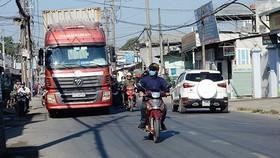 Cấm xe lưu thông vào đường Đoàn Hữu Trưng quận 2