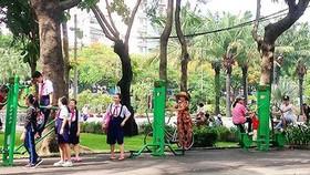 Dùng vốn ngân sách xây Công viên 23-9