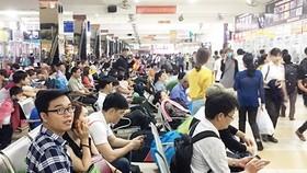 Không tăng giá vé xe dịp Tết Dương lịch